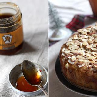 Whole-Wheat Honey Almond Cake