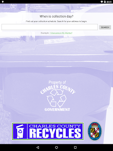 Charles County RECYCLES- screenshot thumbnail