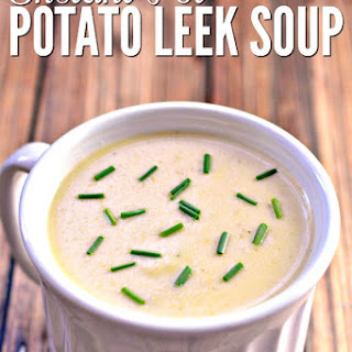 Instant Pot Potato Leek Soup.