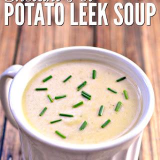 Instant Pot Potato Leek Soup.