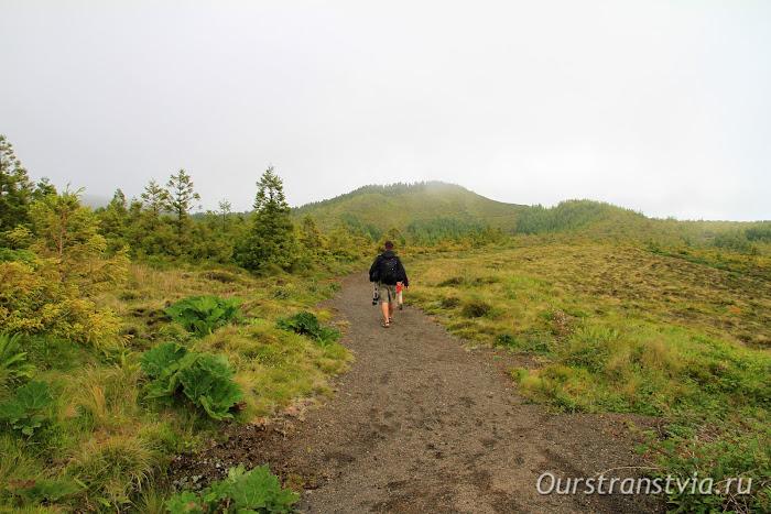 Пешеходный маршрут к 7 озерам, Азорские острова