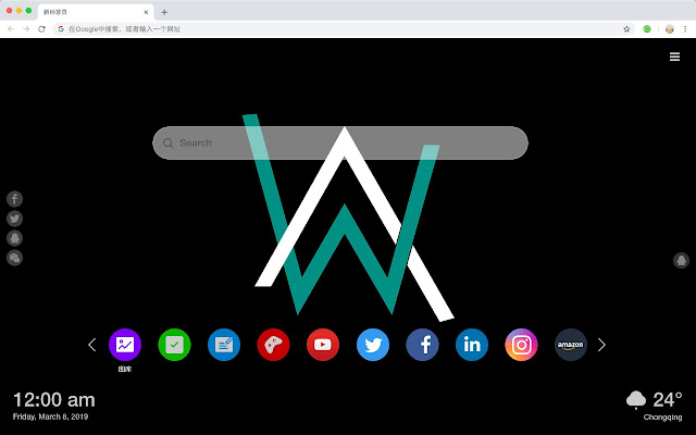 Alan Walker New Tab, Customized Wallpapers HD