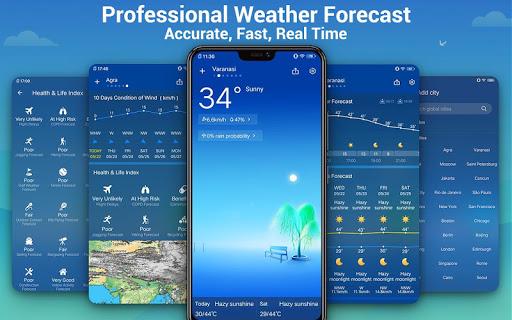 Weather Forecast - Daily Live Weather & Radar 1.1.3 screenshots 1