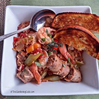 Crock Pot Jambalaya - Slow Cooker Delight.