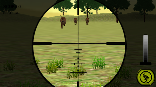 Wild Lion Hunting Sniper 3D screenshot 1