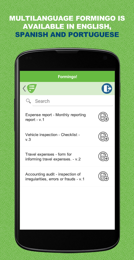 Formingo! - Mobile Forms- screenshot