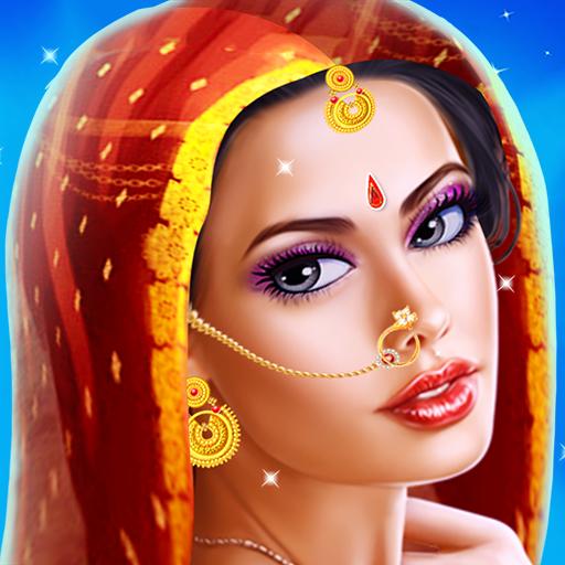 Indian Fashion Girl Makeup Salon