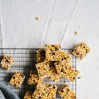 Peanut Butter + Cacao Nib Cereal Bars | V + Gf