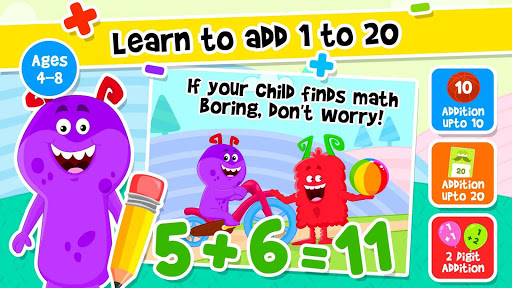 Addition and Subtraction for Kids - Math Games 1.8 screenshots 18