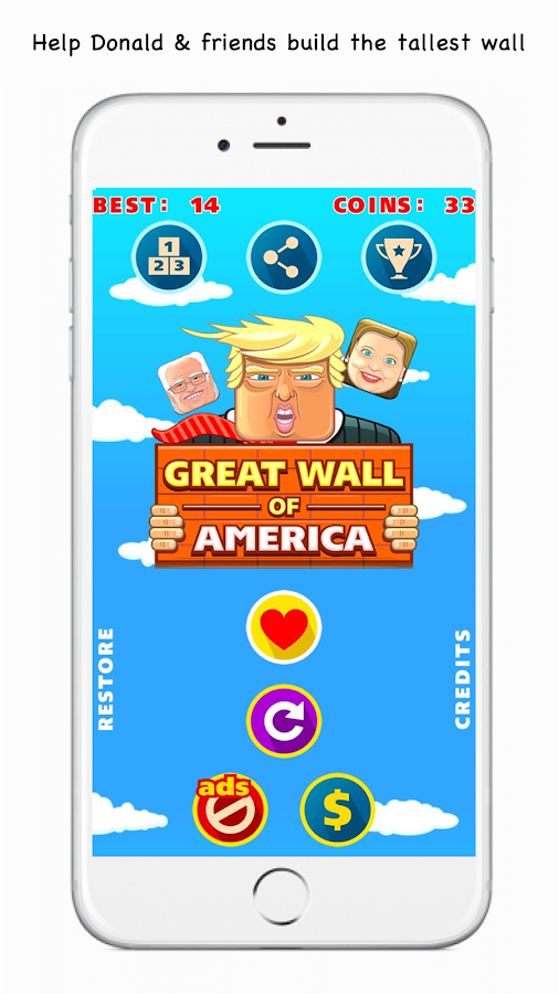 Great Wall of America - Trump- screenshot