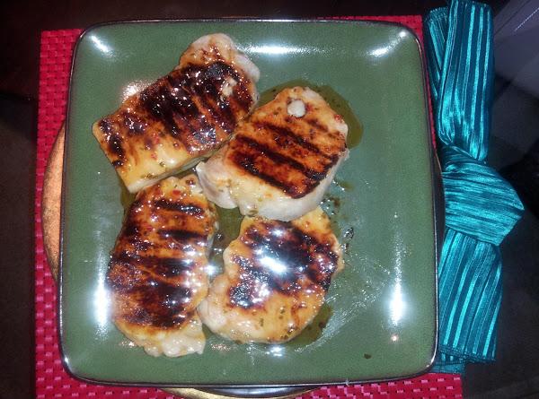 Beer -brined Grilled Pork Chops With Glaze Recipe