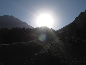 Photo: Gandakush ravine, ascent to Gandakush  pass