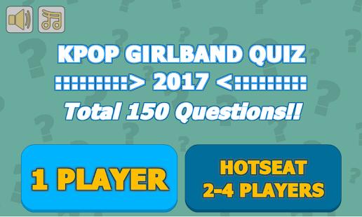 KPOP Girl Band Quiz 2017 - náhled