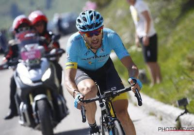 Italiaan van Astana wint 15e Giro-etappe, Primoz Roglic doet na val een slechte zaak in strijd om roze
