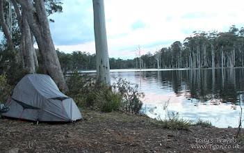 Photo: Camping at Lake King William, Tasmania