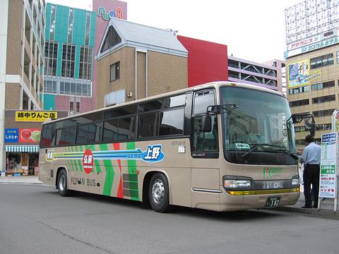 弘南バス「青森上野号」 ・382 青森駅前改札中