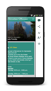 Barcelona Museums and Sights – Miniaturansicht des Screenshots