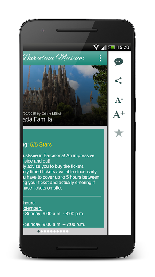 Barcelona Museums and Sights – Screenshot