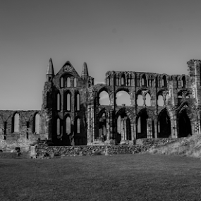 whitby abbey 2 by Octavian Oprea - Buildings & Architecture Architectural Detail ( uk, arhitecture, gothic, monument, whitby, abbey )