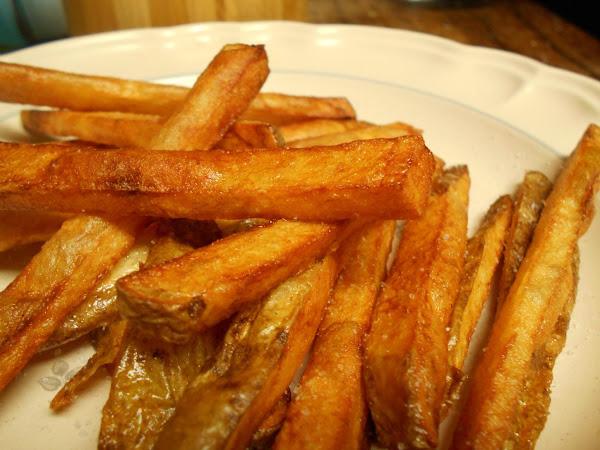 Twice Fried Cast Iron Skillet French Fries Recipe
