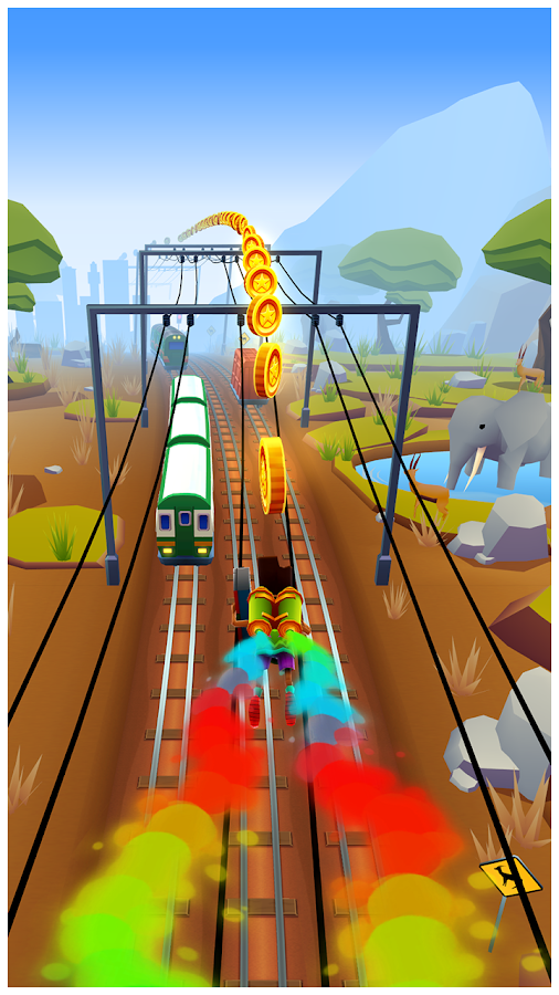 Subway Surfers- screenshot