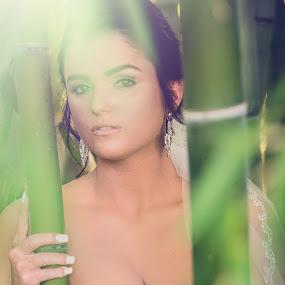 Beautiful in Bamboo by Aaron Lockhart - Wedding Bride ( glamour, model, wedding photography, wedding photography chattanooga, bridal, bridal portraits, wedding, bride, photography )