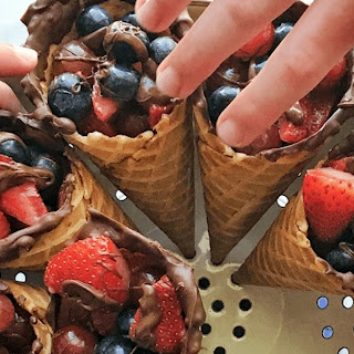 Waffle Cones Desserts Recipes.