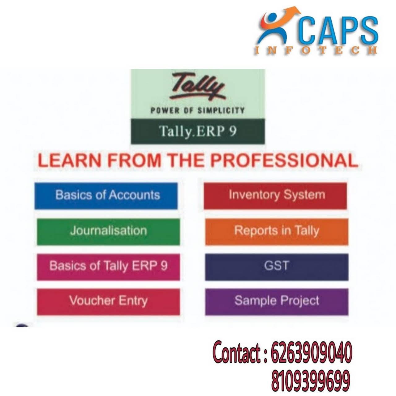 CAPS Tally Training Institute - Tally Training Center in Raipur