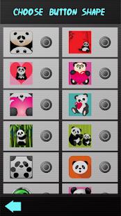 Úžasné panda klávesnice - náhled