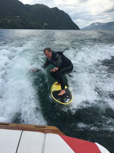 wakesurf bourget du lac