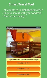 Best Rated Youthhostels Europe screenshot 0