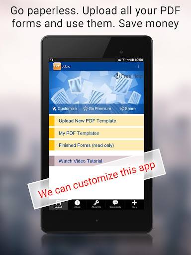 Instant Mobile Forms
