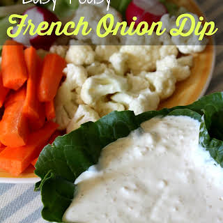 Easy Peasy French Onion Dip.