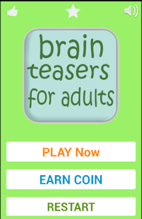 Brain Teasers For Adults- screenshot thumbnail