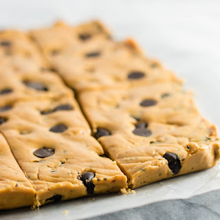 Chocolate Chip Peanut Butter Protein Bars.