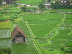Photo: Shirakawa-go (classés au patrimoine de l'Unesco) au Japon