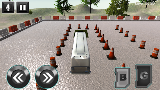Bus Parking Driving School 3D- screenshot thumbnail