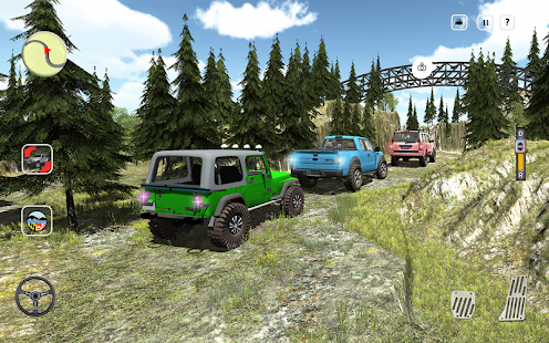 4X4 Offroad Jeep Mountain Hill- screenshot thumbnail