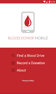 Blood Donor Mobile Plus 1