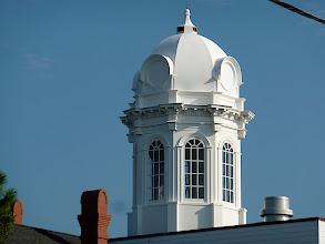 Photo: Carteret County Courthouse cupola - Beaufort, NC Photo courtesy David Sobotta