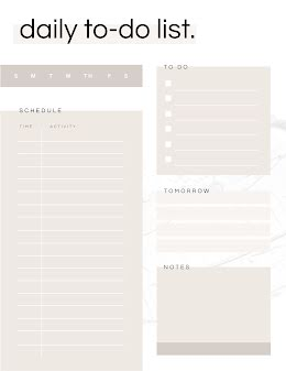 Overlay Daily To Do - Planner item