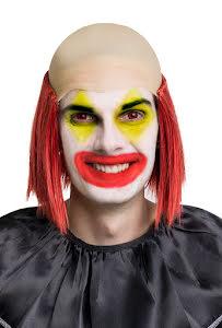 Clownflint med rött hår