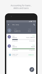 ProCoins personal finance - náhled