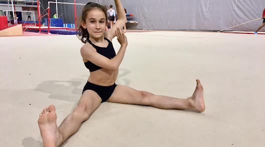 La EDM de Gimnasia Artística del Stella Maris vuelve a perfeccionarse en los entrenamientos.
