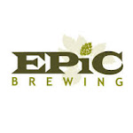 Logo of Epic Brewing. Brainless