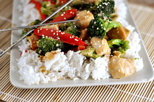Sesame Chicken Stir-Fry Recipe