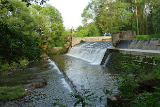 Photo: splav na řece Moravici