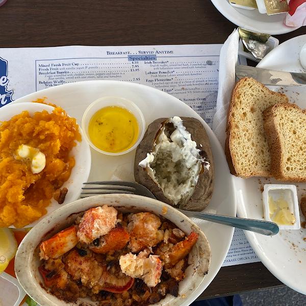 Lobster pie. GF. Fabulous