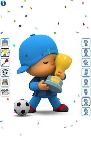 Talking Pocoyo Football