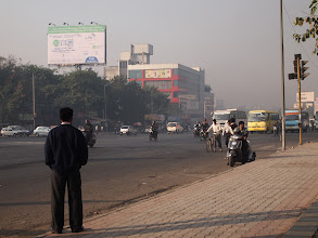 Photo: One winter morning in Pune, near Hyatt Regency on Nagar Road. One of my favourite scenes. 3rd December updated -http://jp.asksiddhi.in/daily_detail.php?id=381